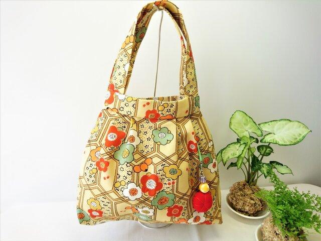 着物 リメイクバッグ ~梅の花~の画像1枚目