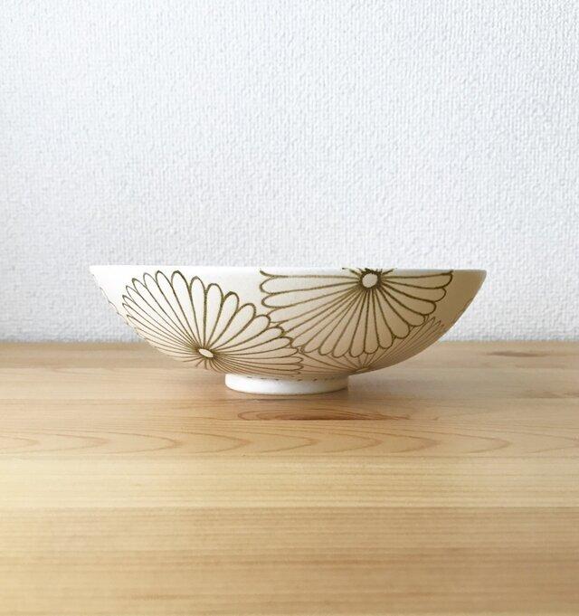 菊花文  浅鉢の画像1枚目