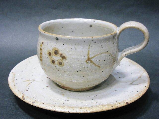 絵唐津コーヒーカップの画像1枚目