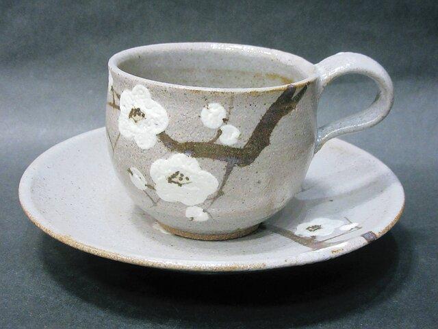 コーヒーカップ(梅)の画像1枚目