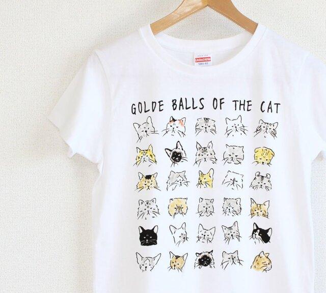 猫の尻Tシャツ レディースタイプの画像1枚目