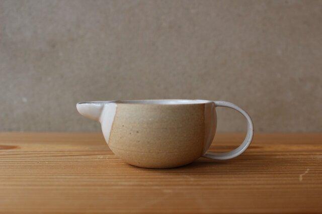 ミルクピッチャー  大(地シリーズ)茶の画像1枚目