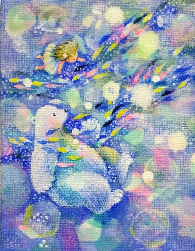 Mini Canvas Art_067の画像1枚目