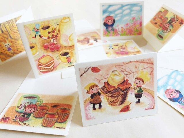 かわいい秋みつけた カードの画像1枚目