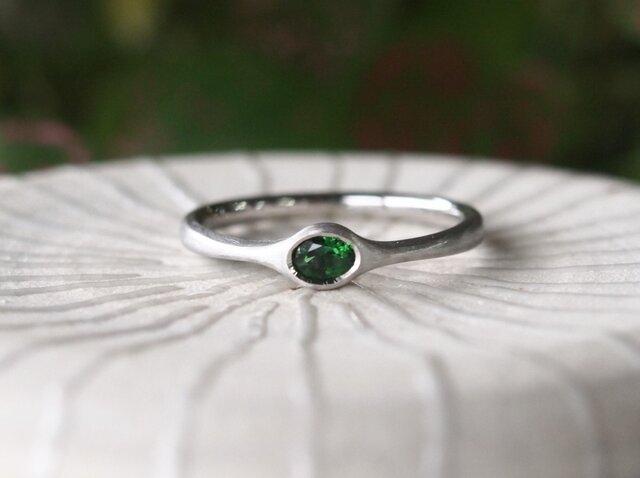 クロムトリマリン指輪の画像1枚目