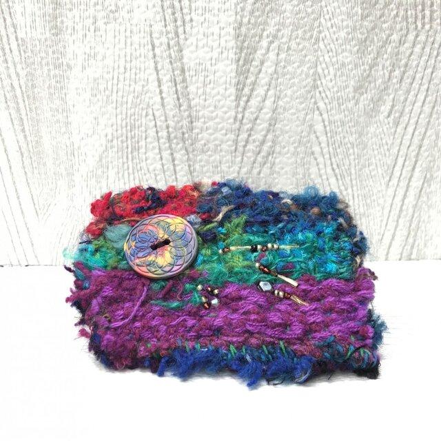 手織りブローチ9の画像1枚目