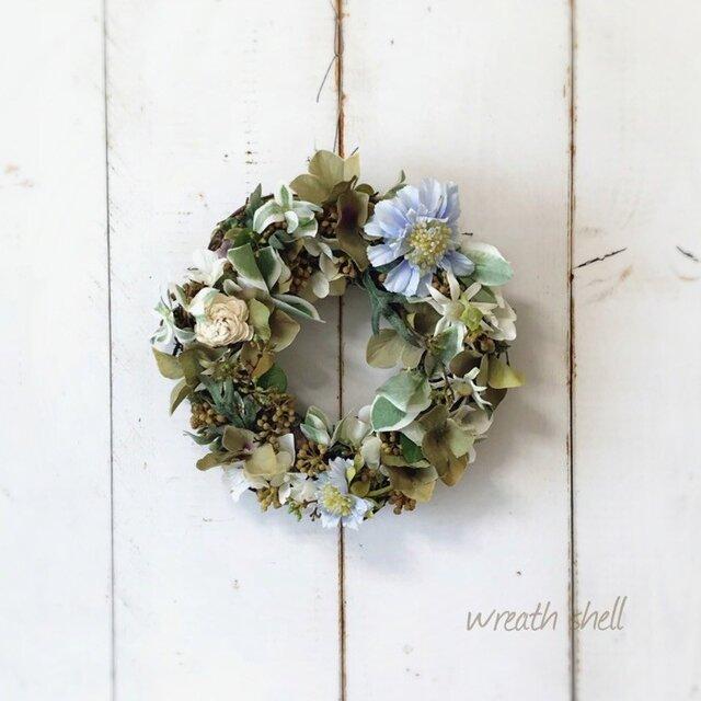 Natural wreath ・ミルクティーの画像1枚目