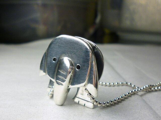 ゾウさんペンダントの画像1枚目