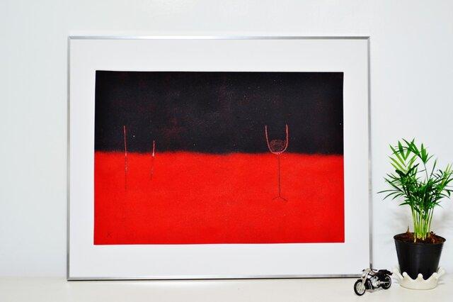 赤と黒のブルースの画像1枚目