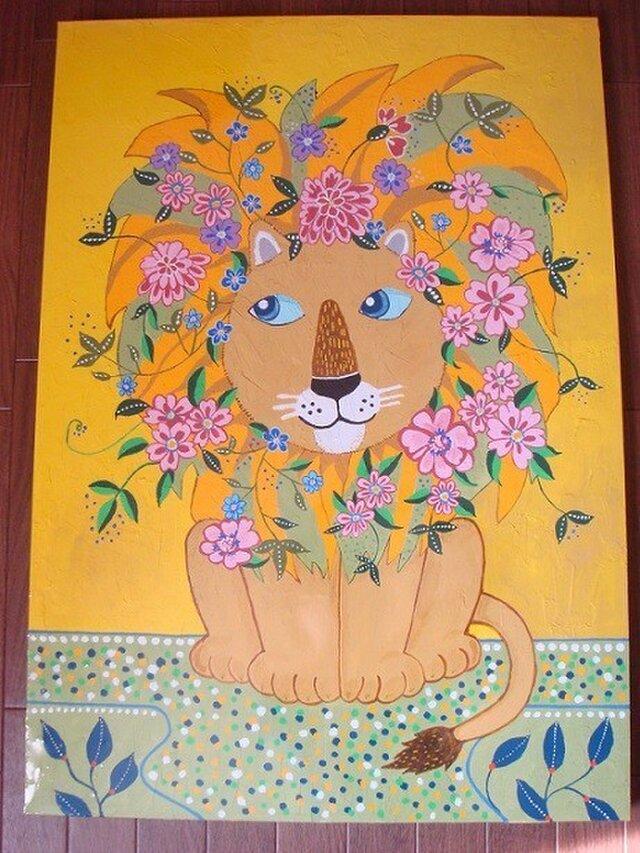 ライオンの夢の画像1枚目