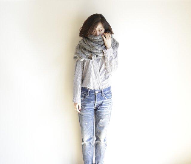shawl/ショール muffler/マフラーの画像1枚目