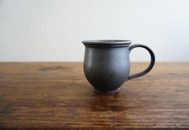 クラシカルマグカップ(黒マット)の画像1枚目