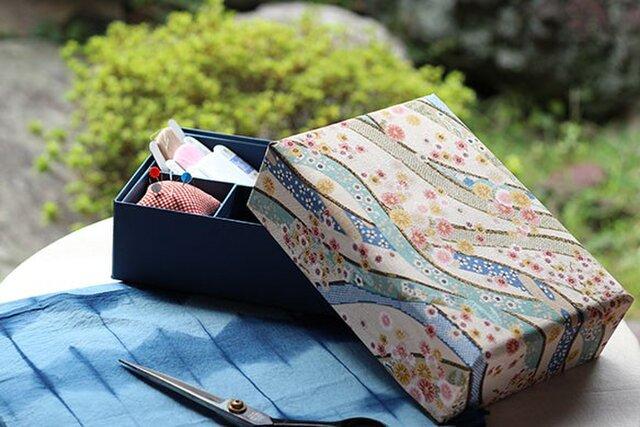 花筏の裁縫箱の画像1枚目