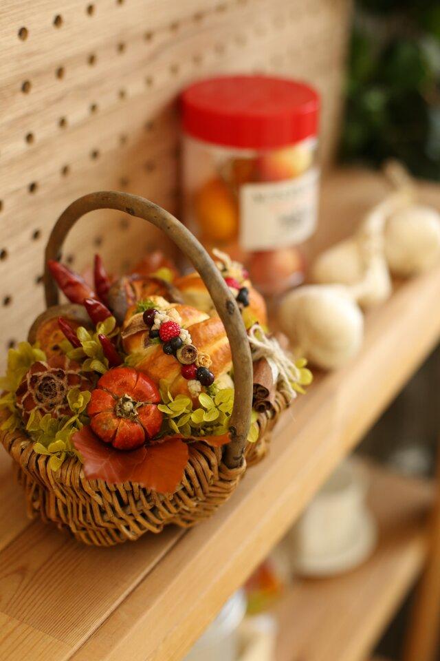 再販♪ちょっぴり大人の・・・「秋」ギフトロトンヌパニエ ハロウイン お誕生日 結婚祝い 新築祝い ご自身への贈り物にオススメ♪の画像1枚目
