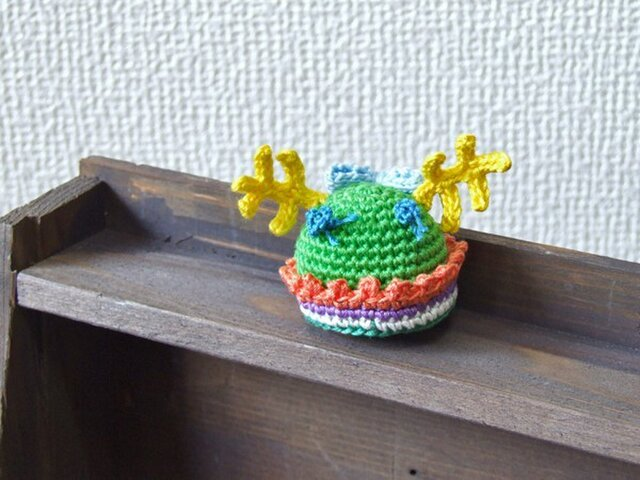 ナゾ生物☆グリーンの画像1枚目