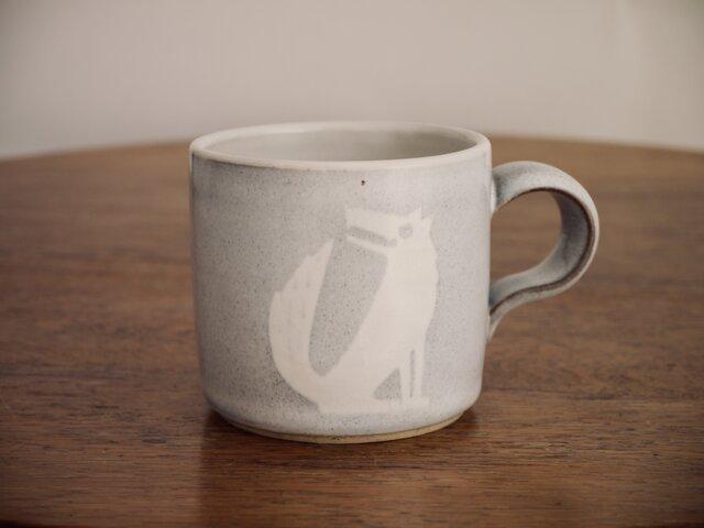 オオカミのマグカップの画像1枚目