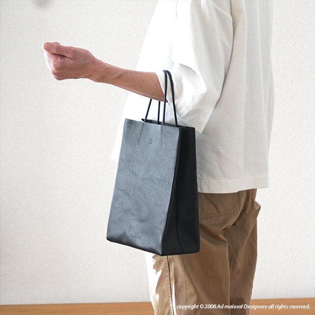 大人の革袋 S ・ブラック[受注生産品]の画像1枚目