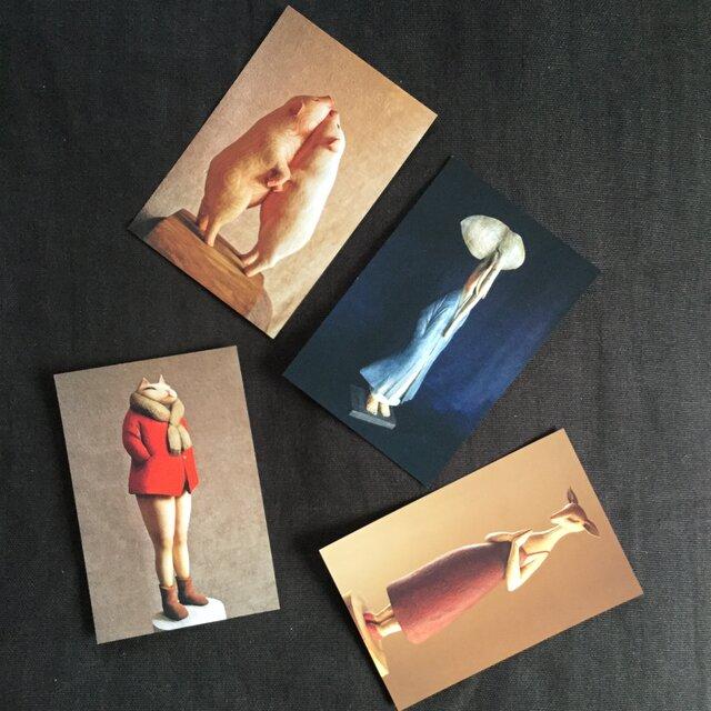 Nikichi ポストカード / Dセットの画像1枚目