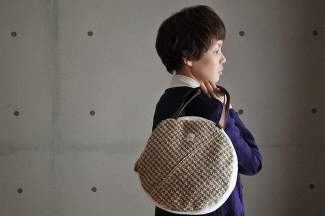 まるのさをり織りバッグの画像1枚目