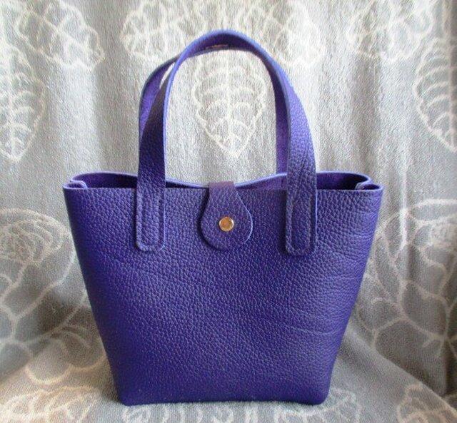 【新作新色】総手縫い トリヨン ミニトートバッグの画像1枚目