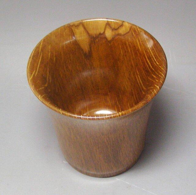 楢樫 ビアカップ ガラスコート仕上の画像1枚目