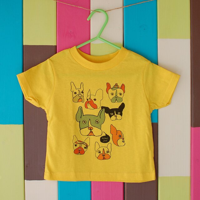French Bulldog T-shirt _ 90 sizeの画像1枚目