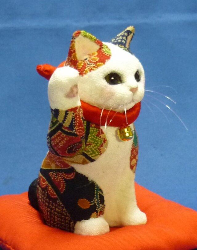 再出品 はんなり姫招き猫の画像1枚目
