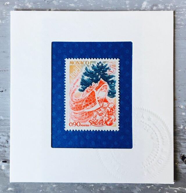 ちいさなartmuseum Monaco stamp の画像1枚目
