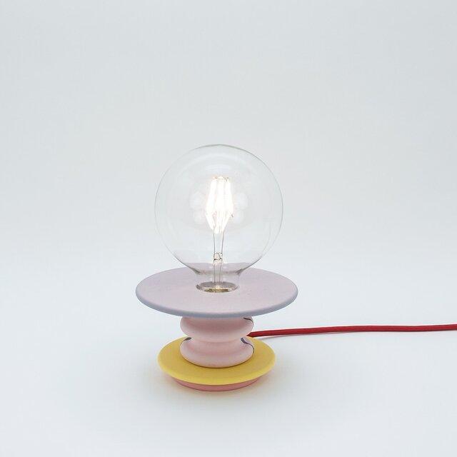 パープルテーブルランプ Frutti Lampの画像1枚目