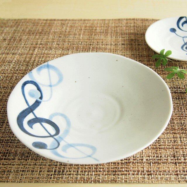 Jazz ト音記号5寸皿の画像1枚目