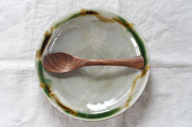 木のスプーン A型スプーン(ブラックウォールナット材)の画像1枚目
