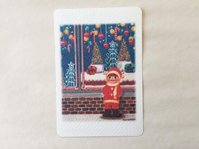 クリスマスの待ち合わせ ポストカードno.115の画像1枚目