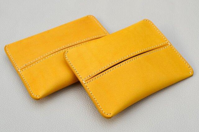 ポケットティッシュケース(黄色)の画像1枚目