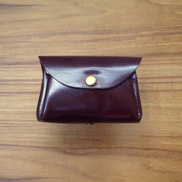 小さい革財布の画像1枚目