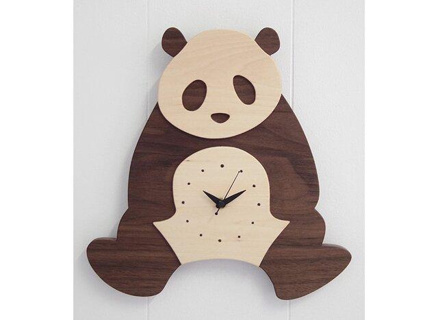 時計 パンダ 前向きの画像1枚目