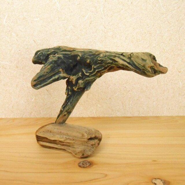【温泉流木】自然な造形美の流木オブジェ 流木アート 流木インテリアの画像1枚目