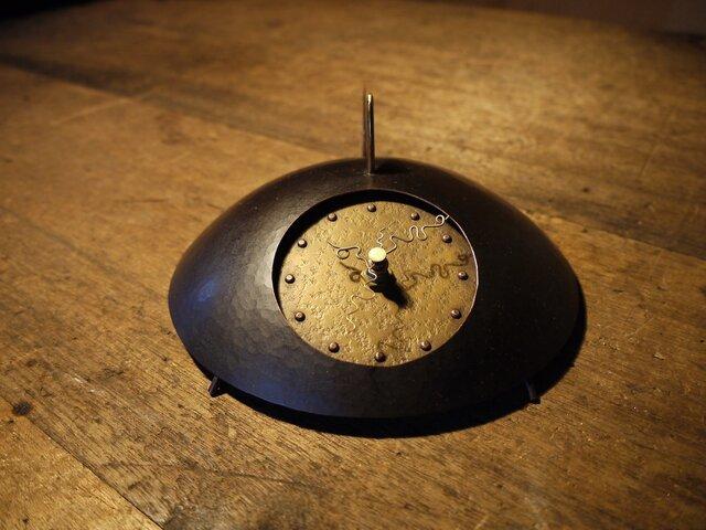 時の住人(トキノスミビト)TypeA 銅製時計の画像1枚目