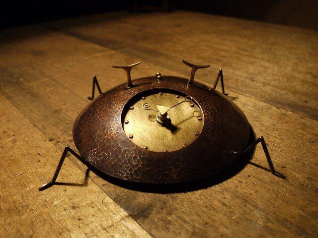 時の住人(トキノスミビト)TypeB 銅製時計の画像1枚目