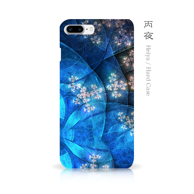 丙夜 - 和風 iPhone 手帳型ケースの画像1枚目
