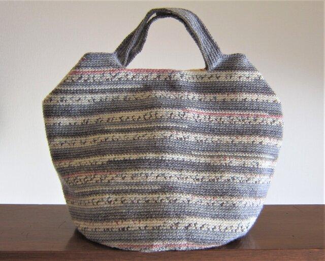 ドイツ製毛糸のバッグの画像1枚目