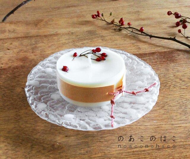ソイキャンドル(winter rose)小の画像1枚目