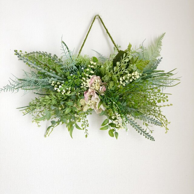 Green Hanging basketの画像1枚目