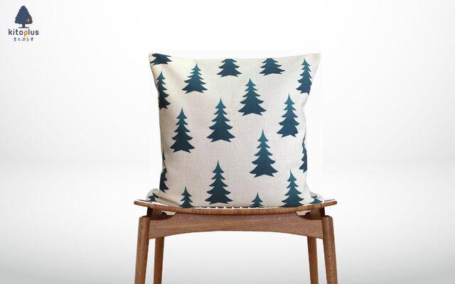 森のクッション Fir trees ヒノキの香りの画像1枚目