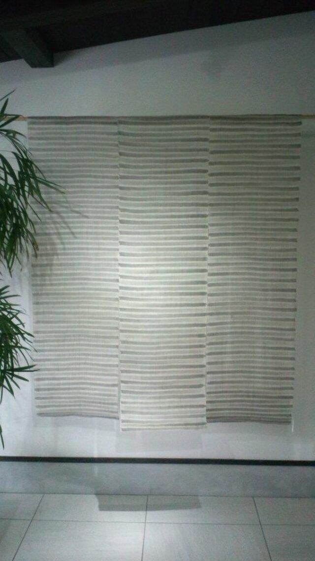 墨染め暖簾3巾の画像1枚目