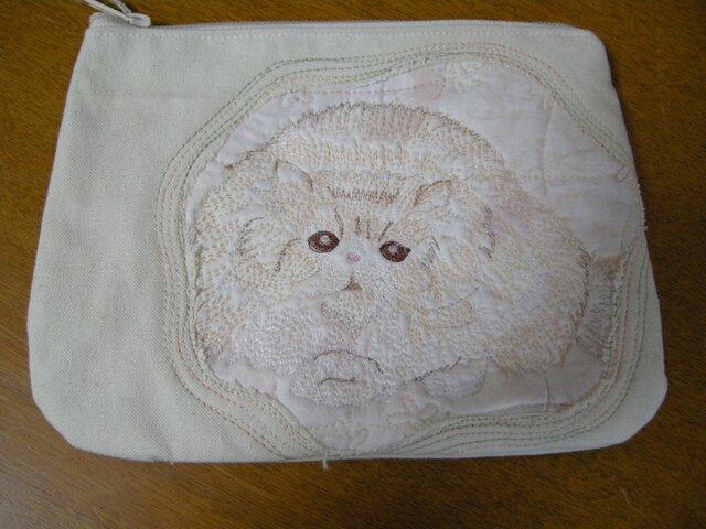 ネコのポーチの画像1枚目