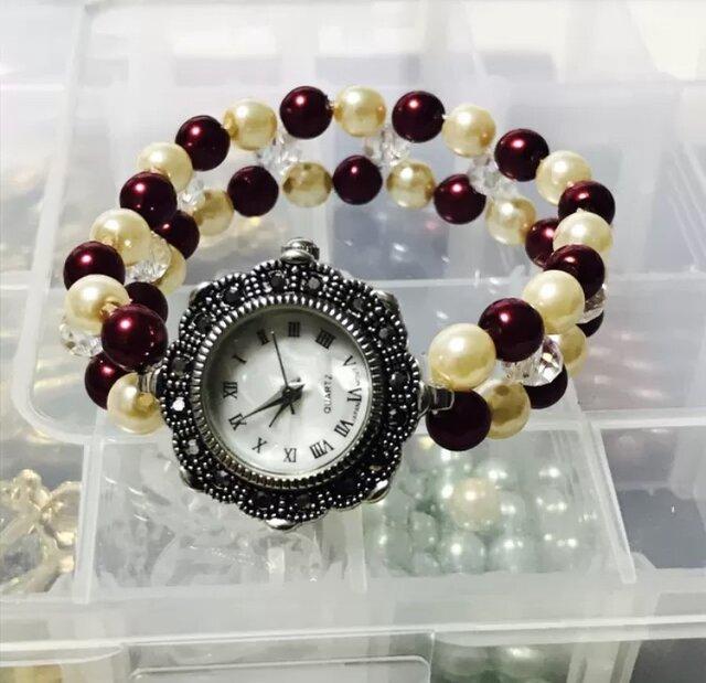 ブレスレット風腕時計の画像1枚目