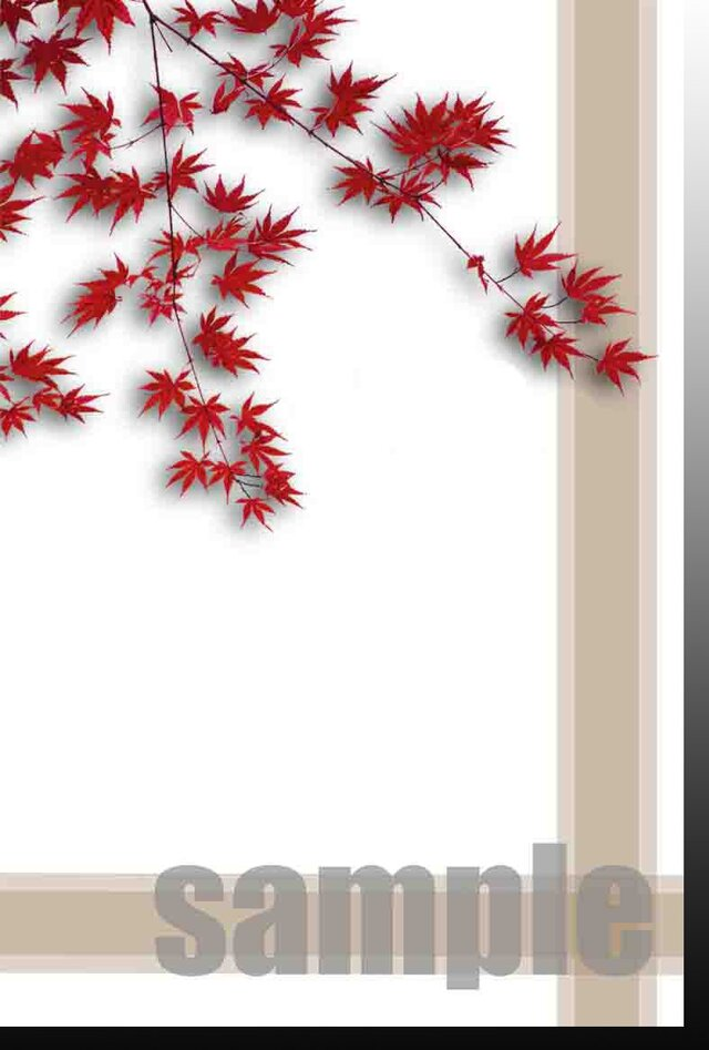 【P-9】ポストカード5枚【750円送料無料】秋冬シリーズ  の画像1枚目