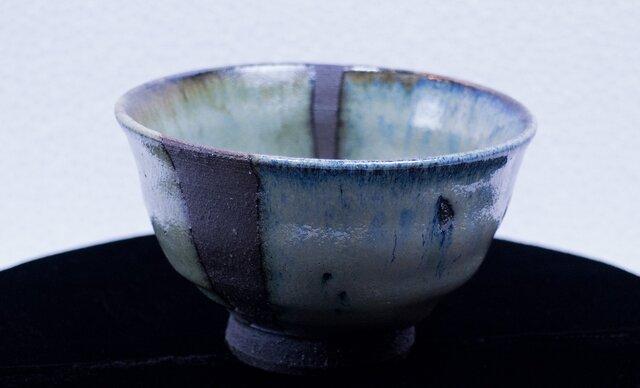碧灰窯変 飯碗(小)A飯-01Iの画像1枚目