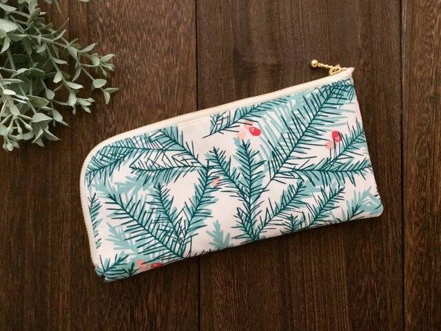軽くて薄い♪L字長財布  もみの木の画像1枚目