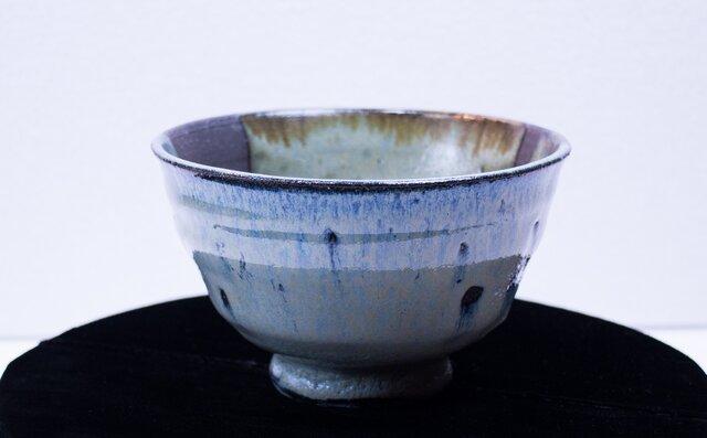 碧灰窯変 大井戸茶碗 A井-01Iの画像1枚目